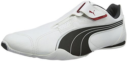 Puma Redon Move, Unisex-Erwachsene Sneakers, Weiß (white-black-ribbon red-puma silver-dark shadow 01), 42 EU (8 Erwachsene UK) thumbnail