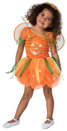 Toddler Orange Pumpkin Pie Costume