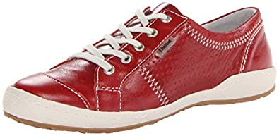 Josef Seibel Women's Caspian Fashion Sneaker, Red Dolomite, 36 BR/5-6 M US