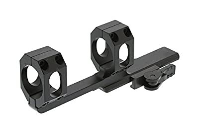American Defense AD-SCOUT-X 30 STD Riflescope Optic Mount, Black by American Defense Mfg
