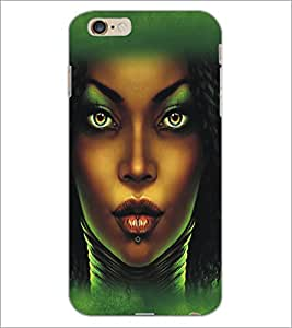 PrintDhaba Cute Girl D-5434 Back Case Cover for APPLE IPHONE 6 PLUS (Multi-Coloured)