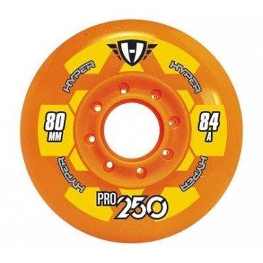 Hyper Rollen für Inlineskates Pro 250, Orange, 80, 72500
