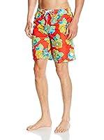 CMP Short de Baño 3R51757 (Naranja / Multicolor)