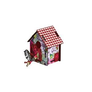 MIHO Bird House Small - Enjoy the Crumbs Wall Decor