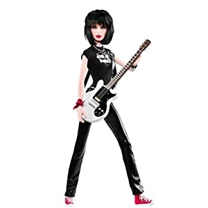Amazon.com: Barbie Collector Joan Jett Ladies of the 80s