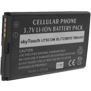 Standard Li-Ion Battery for Cricket TXTM8, Verizon Blitz TXT8010, Pantech Matrix C740, Verizon Escapade WP8990 and PCD CDM-8950