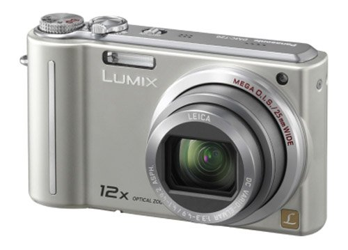 Panasonic Lumix TZ6 Digital Camera - Silver (10.1MP, 12x Optical Zoom) 2.7 inch LCD