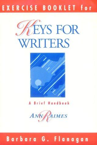 Keys for Writers Exercises, Ann Raimes