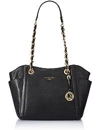 Da Milano Women's Handbag (Black) (Lb-2163Blacksaffiano)
