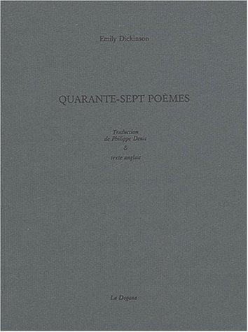 Quarante sept poèmes