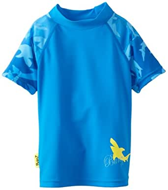 Baby banz little boys 39 short sleeve rash top for Baby rash guard shirt