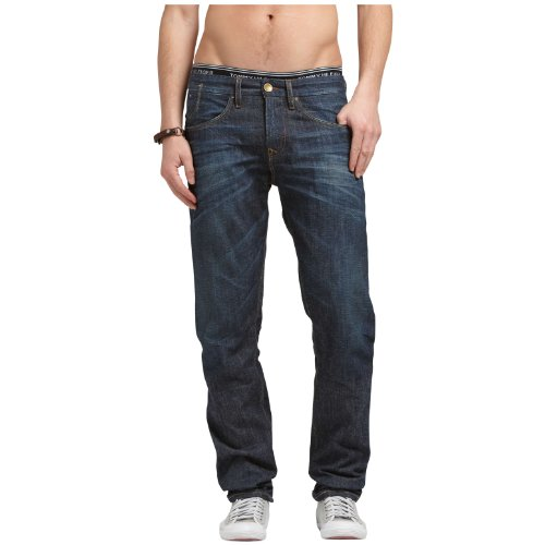 Hilfiger Denim Men's Radburn Ysv / 1957818608 Tapered Jeans Blue (377 Yankton Selvedge) 30/34