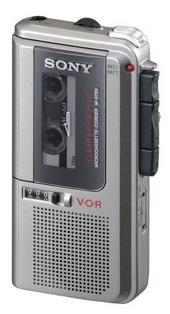 Sony M-570V Microcassette Voice Recorder