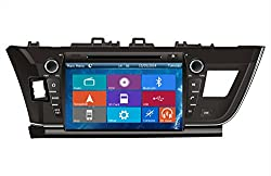See Crusade Car DVD Player for Toyota Corolla 2013- Support 3g,1080p,iphone 6s/5s,external Mic,usb/sd/gps/fm/am Radio 9 Inch Hd Touch Screen Stereo Navigation System+ Reverse Car Rear Camara + Free Map Details