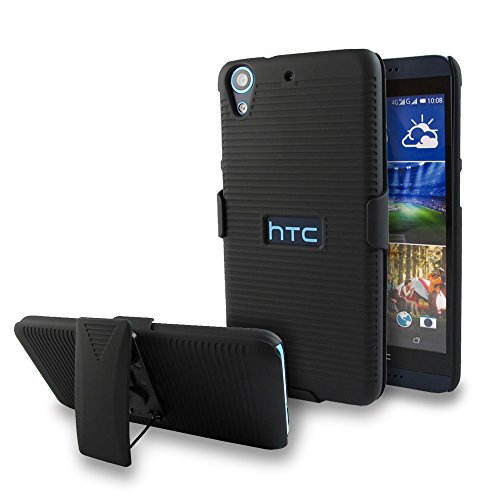 Click to buy HTC Desire 626 / 626s / 625 Case, Kaleidio [Graph Holster] Rotating Belt Clip Stand w/ Face In / Face Out Rear Cover [Includes a Overbrawn Prying Tool] [Black] - From only $45.66