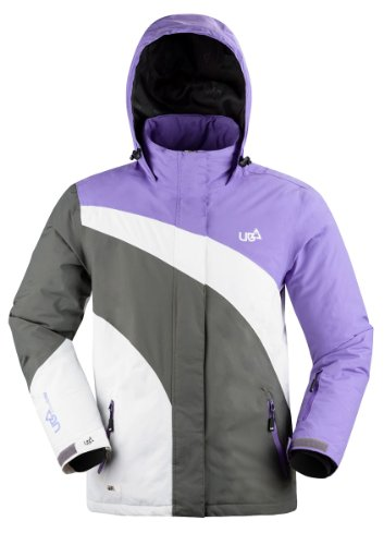 Urban Beach Women's Membrane Winter Ski Snowboard Jacket Large Purple