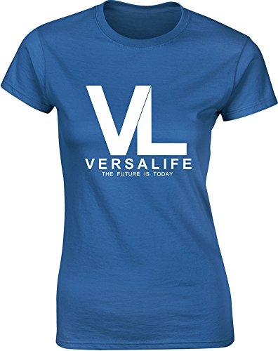 genetics-corporation-gedruckt-frauen-t-shirt-konigsblau-weiss-2xl-98-102cm