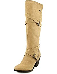 Blowfish Women's Snaps Knee-High Synthetic Boot