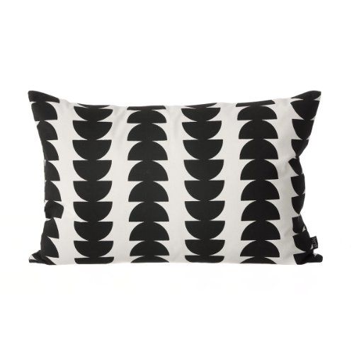 Kissen, Black Semicircle Cushion