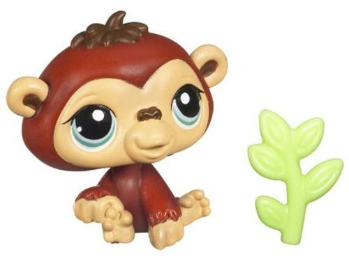 Buy Low Price Hasbro Littlest Pet Shop Get The Pets Single Figure Chimpanzee (B0044DJOFQ)
