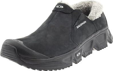 Salomon Women's Rx Snowmoc Ltr Relaxing Recovery Shoe,Black/Black/Titanium,5 M US
