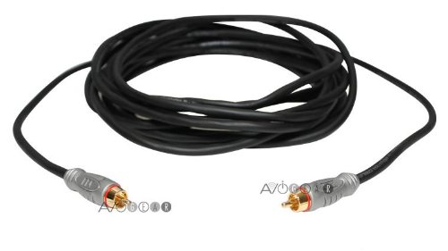 Monster THX Premium Quality 13ft Subwoofer Cable (Black)