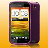 HTC ONE S PURPLE GEL SKIN CASE / COVERby Mobyspares