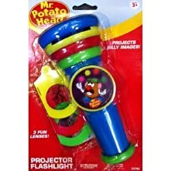 Mr. Potato Head Flashlight with 3 Projector Discs