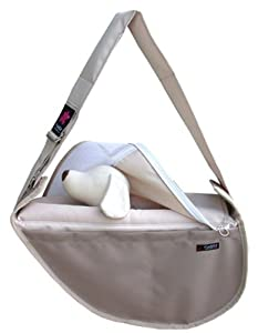 Fundle Ultimate Pet Sling Classic Series Color: Beige Size: Large