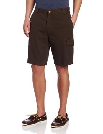 Wolverine Men's Burke 6 Pocket Cargo Short, Bison, 32x10