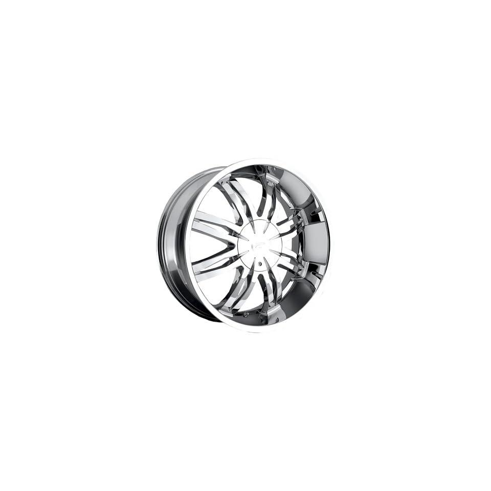Platinum Diamonte Type 298 Chrome Wheel (22x9.5/6x135mm)