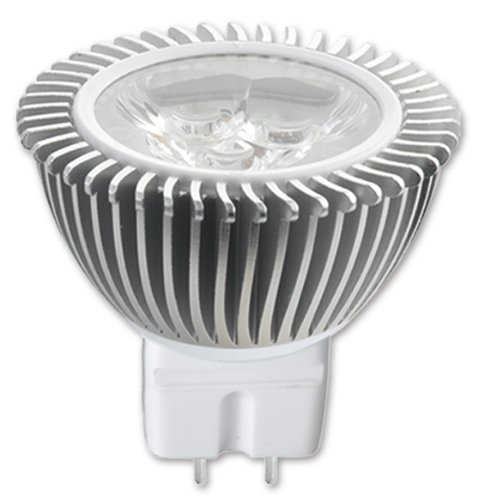 10x Knightsbridge Halogen Lamp GU10 Bulbs 25w 240v Aluminium Reflector