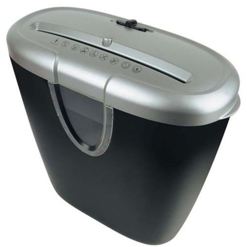 tesco-ccs-211p-cross-cut-shredder-with-12l-waste-bin-auto-stop-function-black