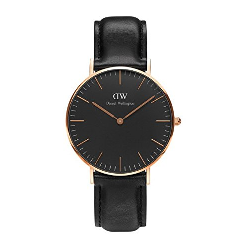 [ダニエル ウェリントン] Daniel Wellington 2016新型40mm メンズ レディース 腕時計 男女兼用 レザー アナログDW00100127 [並行輸入品]