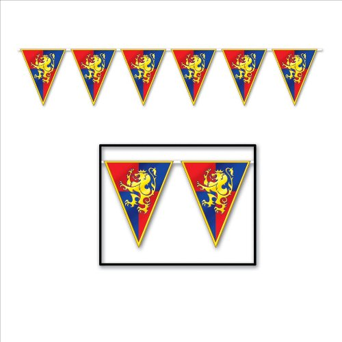 Review Medieval Pennant Banner