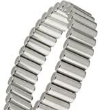 Magnalinx - World's Most Powerful Magnet Therapy Bracelet - Silver