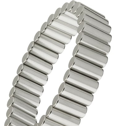Magnalinx - World'S Most Powerful Magnet Therapy Bracelet - Gun Metal front-965167