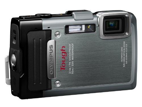 OLYMPUS デジタルカメラ STYLUS TG-830 シルバー 1600万画素 裏面照射型CMOS 防水性能10m、耐落下衝撃性能2.1m、耐低温性能-10℃ TG-830 SLV