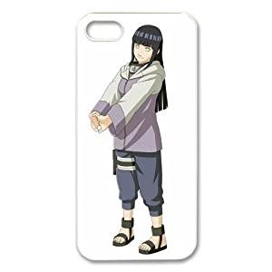 ePcase Lovely Hyuga Hinata in Naruto Printed White Hard Case Cover for iPhone 5