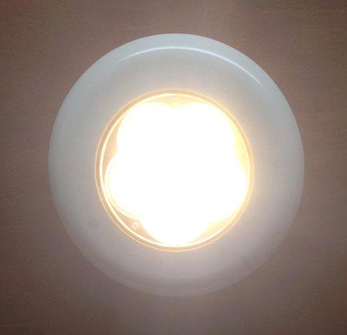 Marine Boat 6 Led Warm White Ceiling Courtesy Light Plastic Flush & Surface