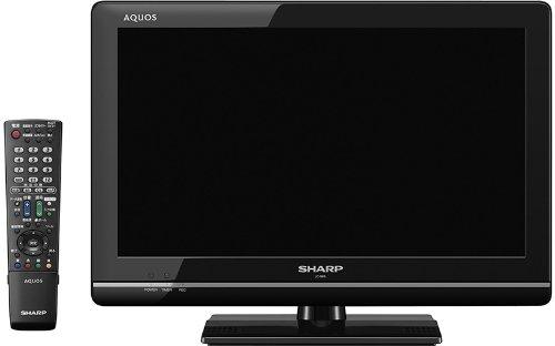 【Amazonの商品情報へ】SHARP AQUOS 19型 地上・BS・110度CSデジタルハイビジョン液晶テレビ LC-19K5-B ブラック系