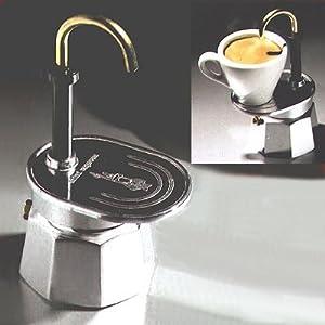 espressokocher bialetti 1281 mini express 1 tasse espressokocher alu review. Black Bedroom Furniture Sets. Home Design Ideas