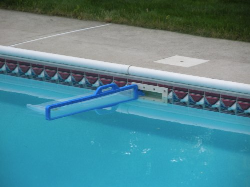 Skimeeze pool skimmer pool net skimmer cleans debris and leaves for in ground for In ground swimming pool skimmer