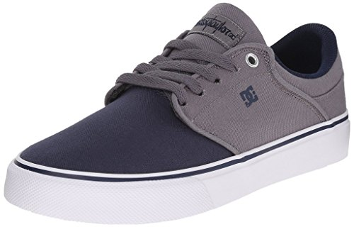 DC Men's Mikey Taylor Vulc TX Shoe, Grey/Black, 10 M US