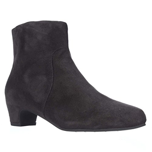 Eileen Fisher Key9 Ankle Booties - Ash Suede, 5.5 M US