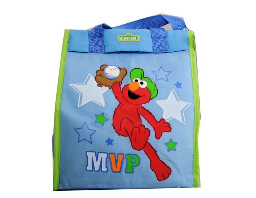 Sesame Street Elmo Baby Diaper Bag Tote Blue New - 1