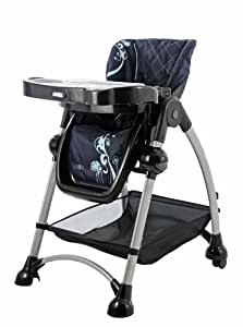 Dream On Me / Mia Moda Alto Highchair, Blue