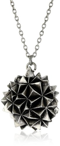 House of Harlow 1960 Silver-Plated Crater Locket Necklace