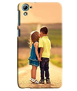 Clarks Printed Designer Back Cover For HTC Desire 826