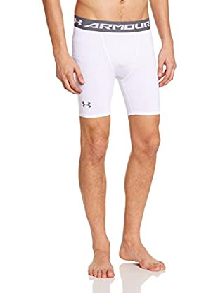 Under Armour Pantalón Interior Técnico Ua Hg Armour Comp Short (Blanco)